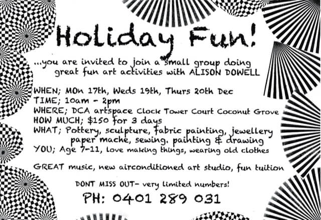 Holiday Fun-Small Group Activities with Alison Dowell December 2018