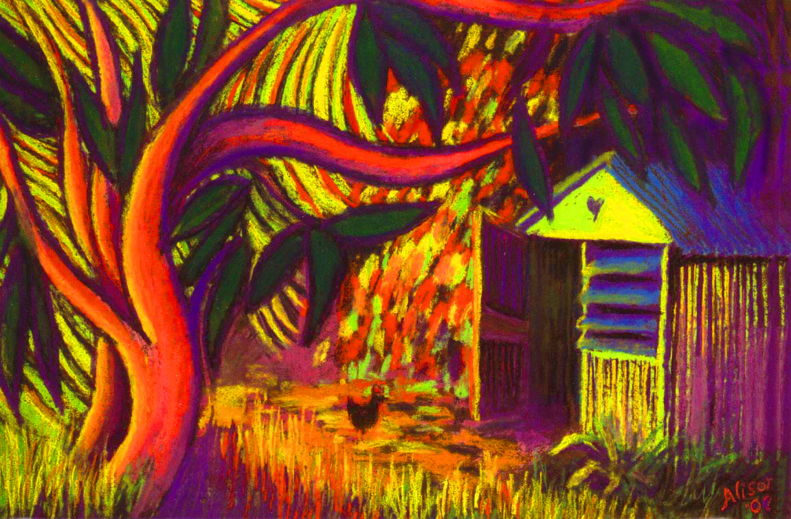 Mango Tree and Shed